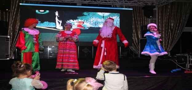 Rus çocuklar 2015'i kutladı