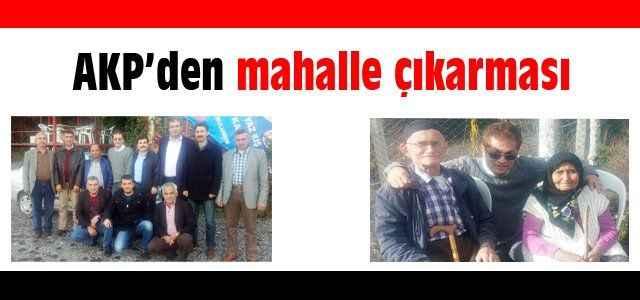 AKP'den mahalle çıkarması