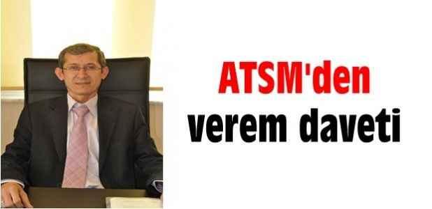 ATSM'den verem daveti