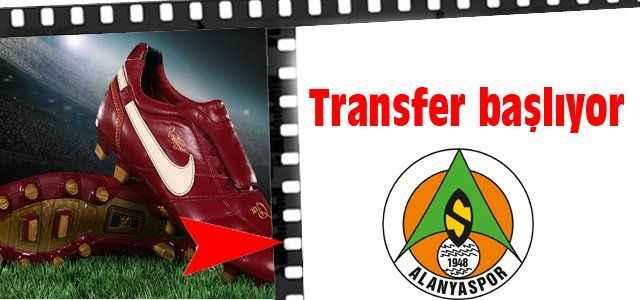 Transfer başlıyor