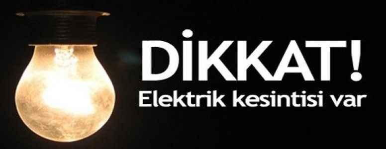 İşte, Alanya'da elektrik kesinti yaşanacak bölgeler