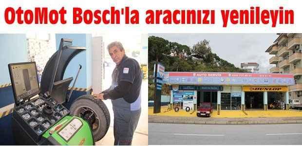 OtoMot Bosch'la aracınızı yenileyin