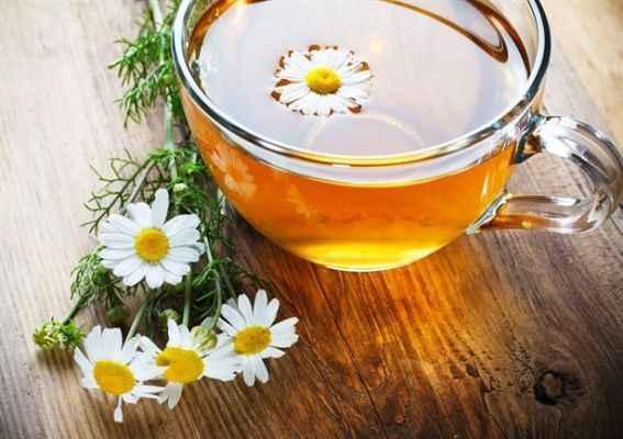 Sağlık için papatya çayı
