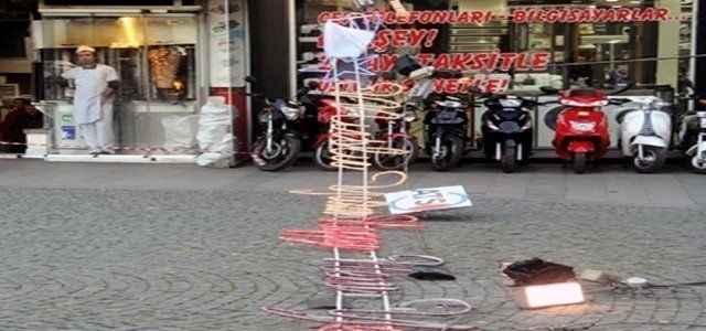 Antalya'da inanılmaz kaza