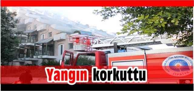 Antalya'nın lüks oteli alevlere teslim