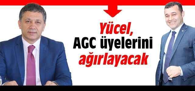 Yücel, AGC üyelerini ağırlayacak