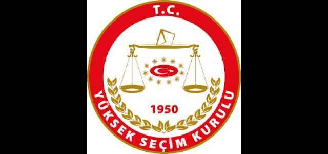 YSK'dan 2015  seçimi için flaş karar