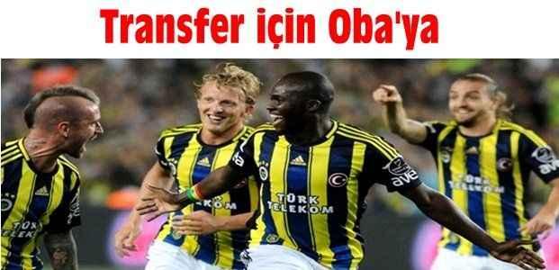 Transfer için Oba'ya