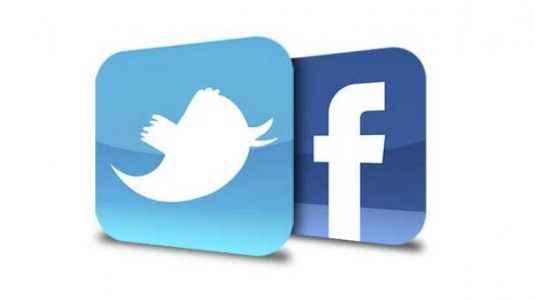 Twitter ve Facebook direkten döndü