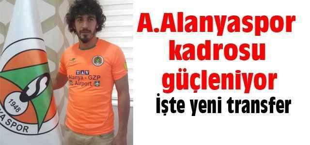 İşte Alanyaspor'un yeni transferi