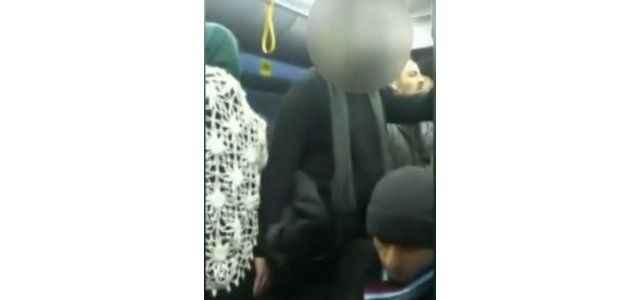 Otobüste taciz vatandaş kamerasında