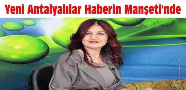 Yeni Antalyalılar Haberin Manşeti'nde