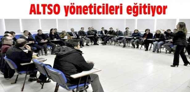 ALTSO yöneticileri eğitiyor