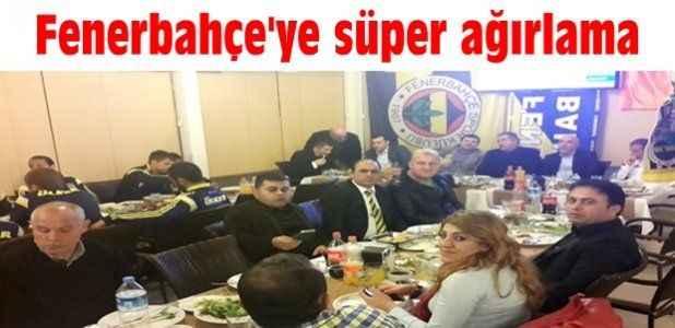 Fenerbahçe'ye süper ağırlama