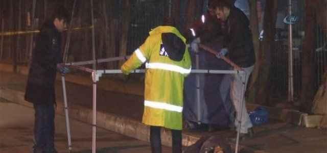 Spor hocasına sokak ortasında infaz