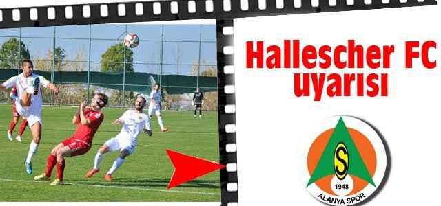 Hallescher FC uyarısı