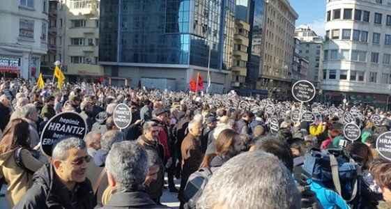 Hrant Dink yürüyüşle anılıyor