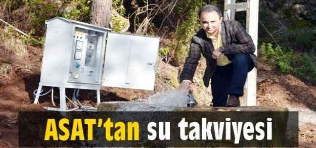 ASAT'tan su takviyesi