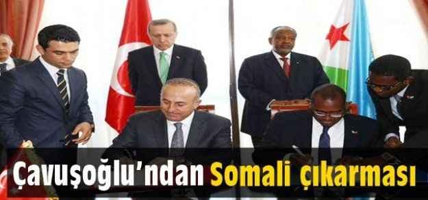 Çavuşoğlu'ndan Somali çıkarması