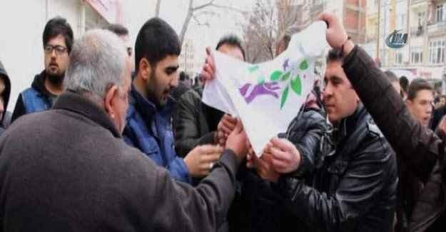 HDP'nin basın açıklamasında arbede