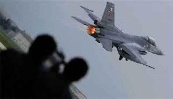 F-16 uçağı düştü: 10 ölü