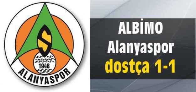 ALBİMO Alanyaspor dostca 1-1