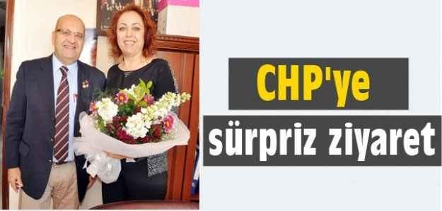 Başak'tan CHP'ye sürpriz ziyaret