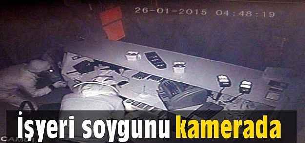 Alanya'da işyeri soygunu