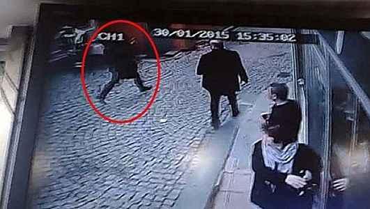 ŞOK! Saldırganın görüntüleri ortaya çıktı