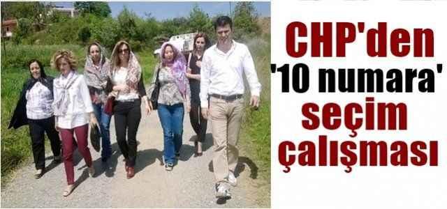 CHP'den '10 numara' seçim çalışması