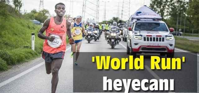 'World Run' heyecanı