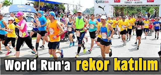 World Run'a rekor katılım