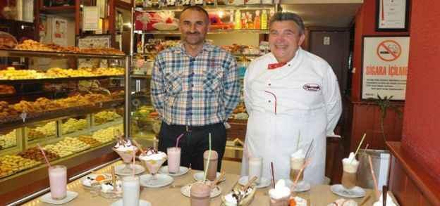 İtalyan dondurma ustası Alanya'da