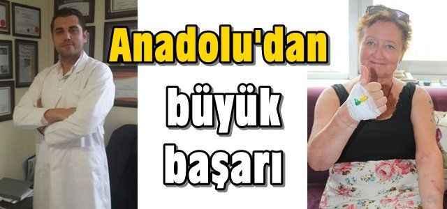 Anadolu'dan büyük başarı