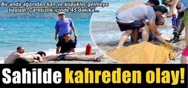 Antalya'da kahreden olay