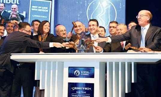 Borsa İstanbul 142. yaşında dünyaya açıldı