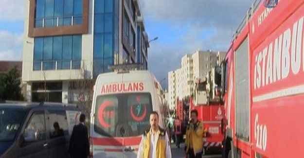Kanal binasında patlama : 4 yaralı
