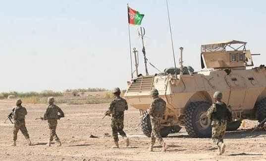 Talibanla çatışmada 90 Afgan askeri öldü