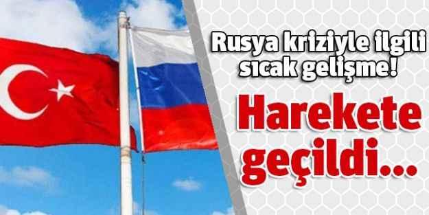 Rusya kriziyle ilgili  sıcak gelişme!  Harekete geçildi...