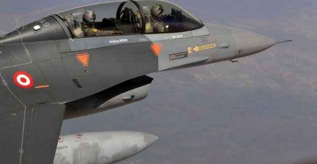 F-16'lar Suriye sınırında kuş uçurtmuyor!
