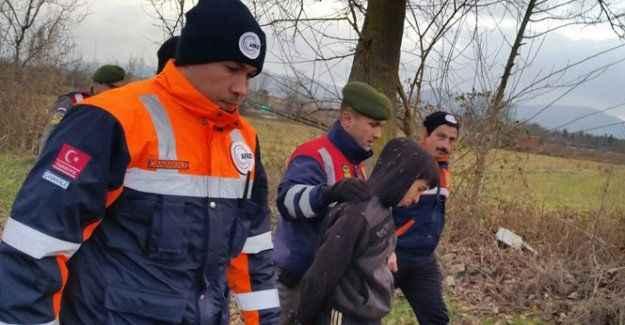 2 gündür dönmeyen çocuk bir barakada bulundu