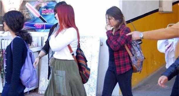 Kadına şiddeti protestoya 4 gözaltı