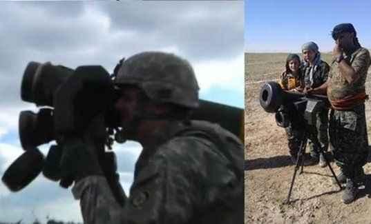 ABD, YPG'ye antitank silahı mı verdi?