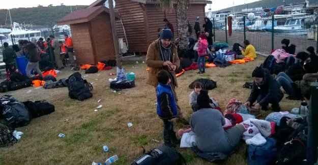 159 sığınmacı yakalandı