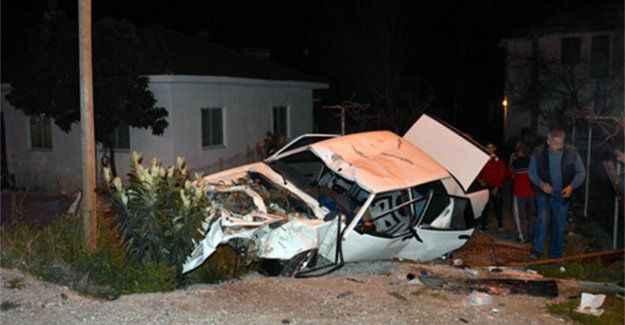 Feci kaza: 1'i ağır, 4 yaralı