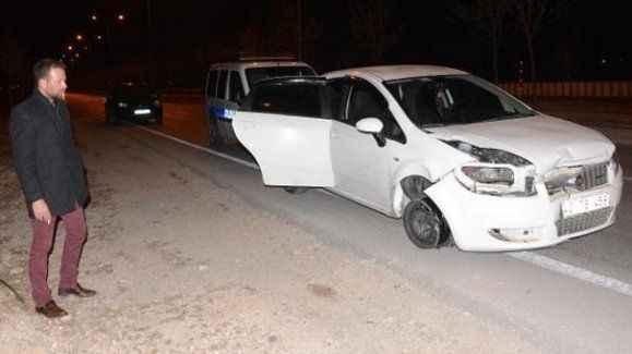 Kaza yaptı sonra 'Ahmet Davutoğlu bizim oralı' diyerek...