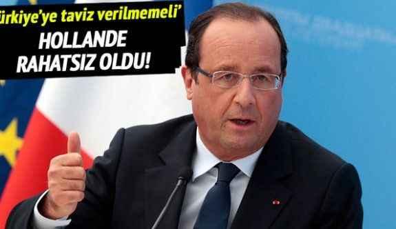 'Vize konusunda Türkiye'ye taviz verilmemeli'