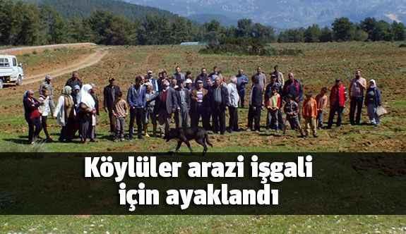 Köylüler arazi işgali için ayaklandı