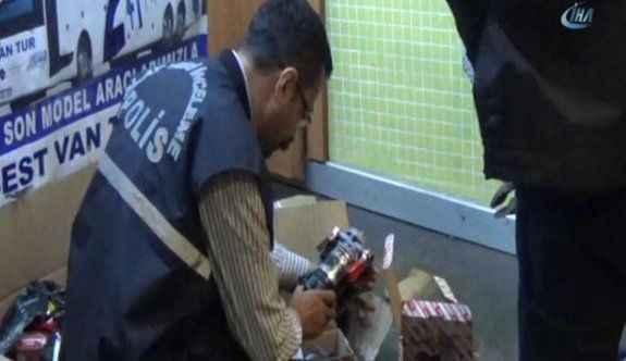 Otobüs terminalinde bomba paniği