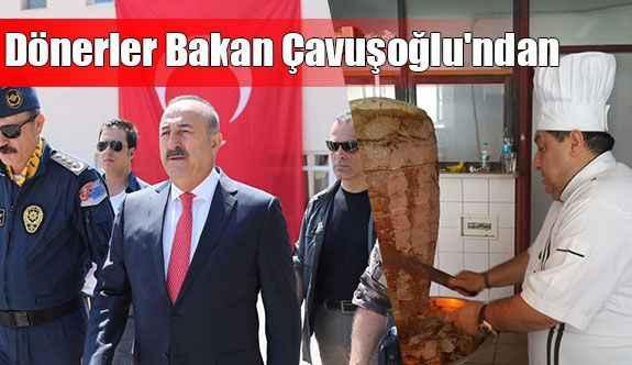 Dönerler Bakan Çavuşoğlu'ndan
